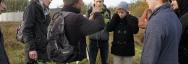 Visite et présentation du marais