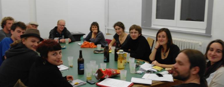 Le comité bénévole en pleine organisation.