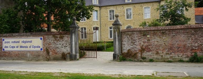 Entrée principale de la maison du Parc