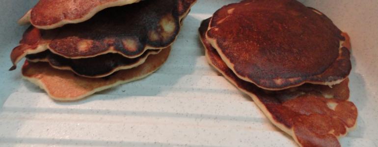 Pancakes à la pomme cuite