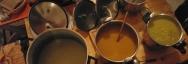 Les soupes Blongios : la Blongiasse, la verte, la soupe du soleil, la forestière !