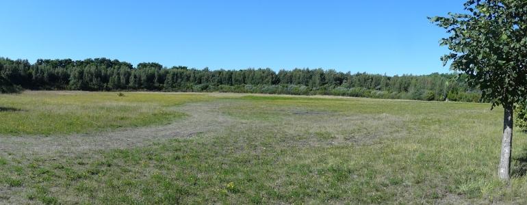 Vue panoramique sur le parc central de l'Entre-deux