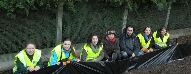 Des bénévoles heureux !